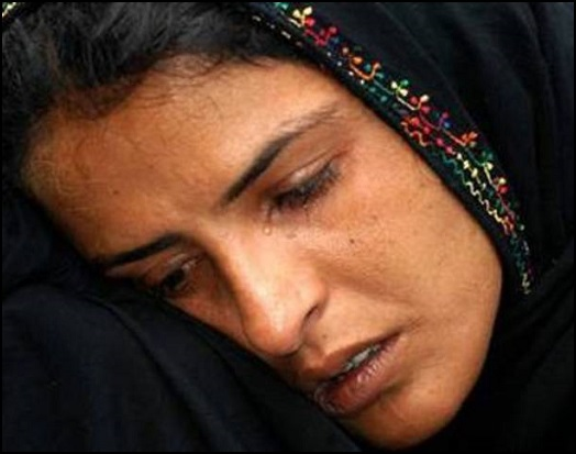 Muslim Woman Crying 10